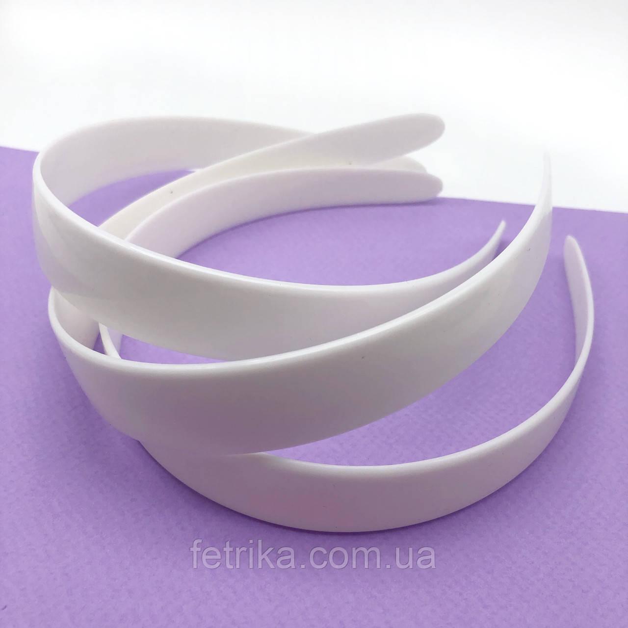 Обруч пластмассовый БЕЛЫЙ без зубчиков, 25 мм