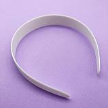 Обруч пластмассовый БЕЛЫЙ без зубчиков, 25 мм, фото 2