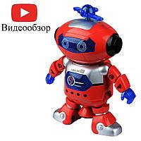 Музыкальный танцующий светящийся робот Dancing Robot (99444-3) Red