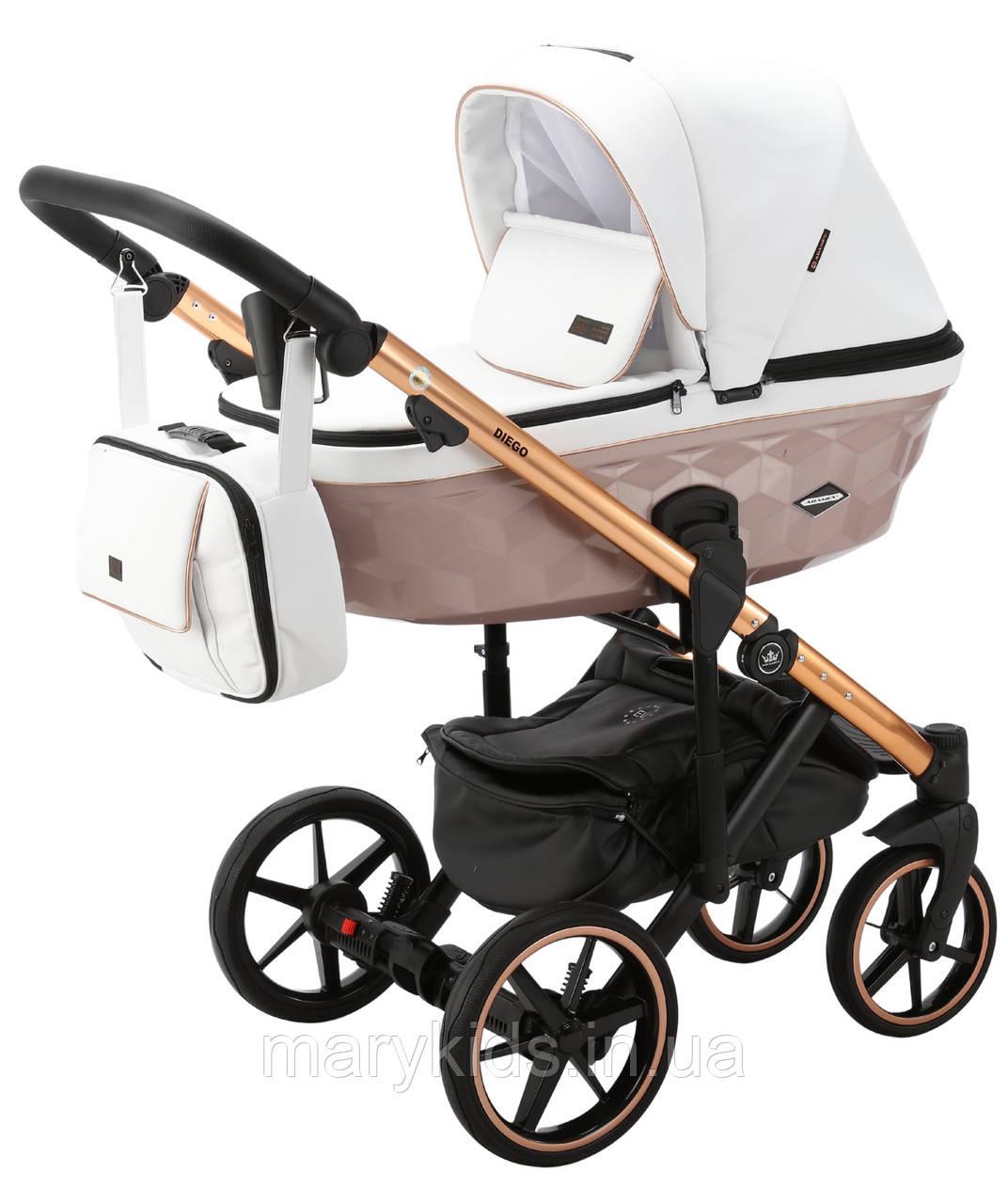 Детская универсальная коляска 2 в 1 Adamex Diego STAR-106