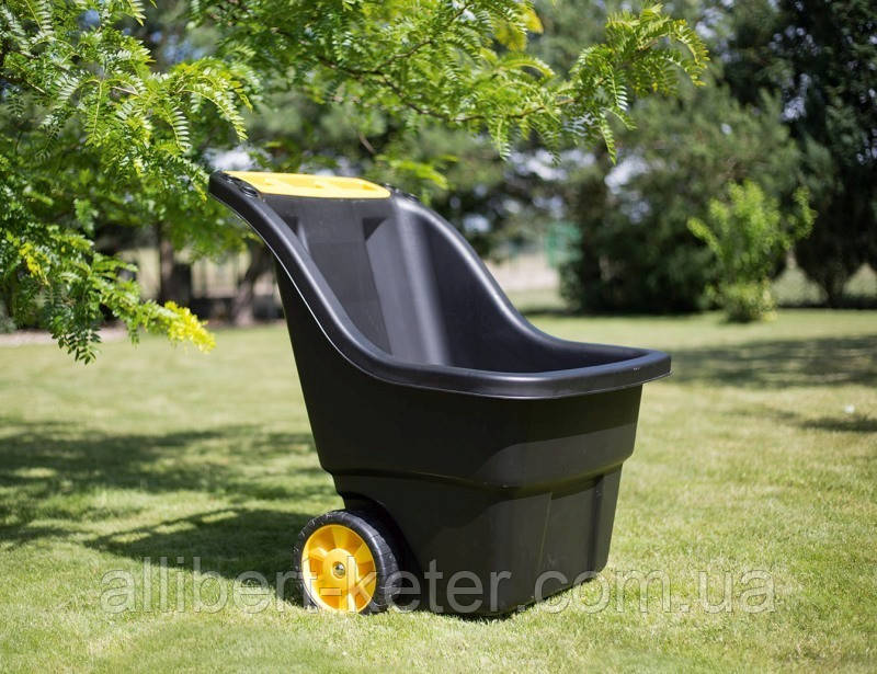 Садовая тачка тележка Keter Super Pro 150 L