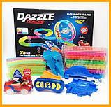Dazzle tracks 187 деталей с пультом управления 425см Дазл трек конструктор трасса с гоночной машинкой, фото 4
