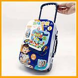 Игровой набор детский конструктор в чемодане болтовая мозаика PAZZLE interest assemble toy 137 PCS, фото 10