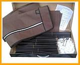 Складаний тканинний шафа Storage Wardrobe 88130 175х130х45 см коричневий, фото 3