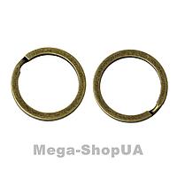 Кольцо для ключей 2 штуки 30 мм / 2 мм Bronze, фото 1