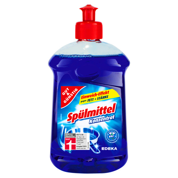 Средство для мытья посуды Gut & Günstig Konzentrat, 500мл