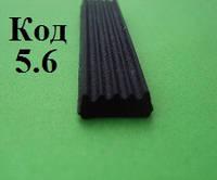 Уплотнитель из пористой резины 10 х 4мм, фото 1