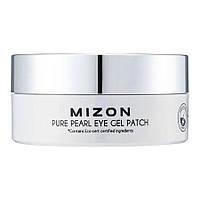 Гидрогелевые патчи под глаза с экстрактом белого жемчуга Mizon Pure Pearl Eye Gel Patch 60 шт