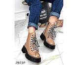 Ботинки зимние на тракторной подошве, фото 4