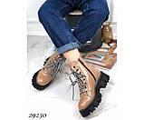 Ботинки зимние на тракторной подошве, фото 6