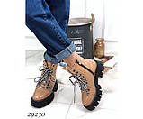 Ботинки зимние на тракторной подошве, фото 7