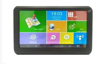 """GPS Навигатор Android 7"""" A7002S+DVR"""