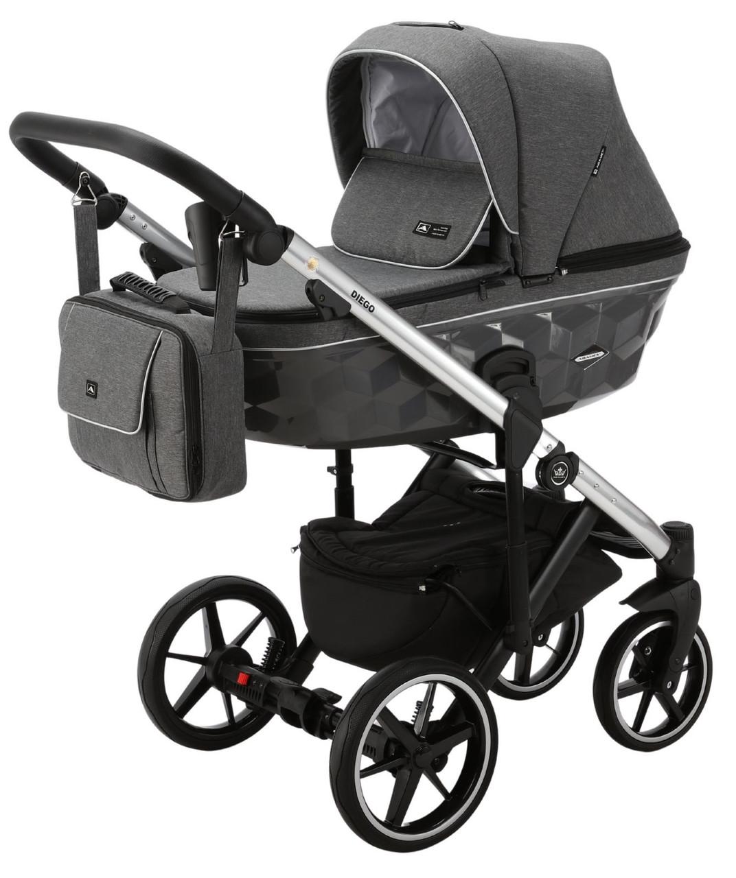 Детская универсальная коляска 2 в 1 Adamex Diego TK-573