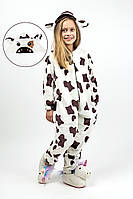 Кигуруми пижама детская и подростковая Коровка
