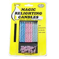 Незадуваемые свечи сюрприз на День рождения, свечи которые не гаснут, волшебные свечи.
