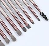 Набор кистей для макияжа 15 шт, фото 3