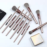 Набор кистей для макияжа 15 шт, фото 4