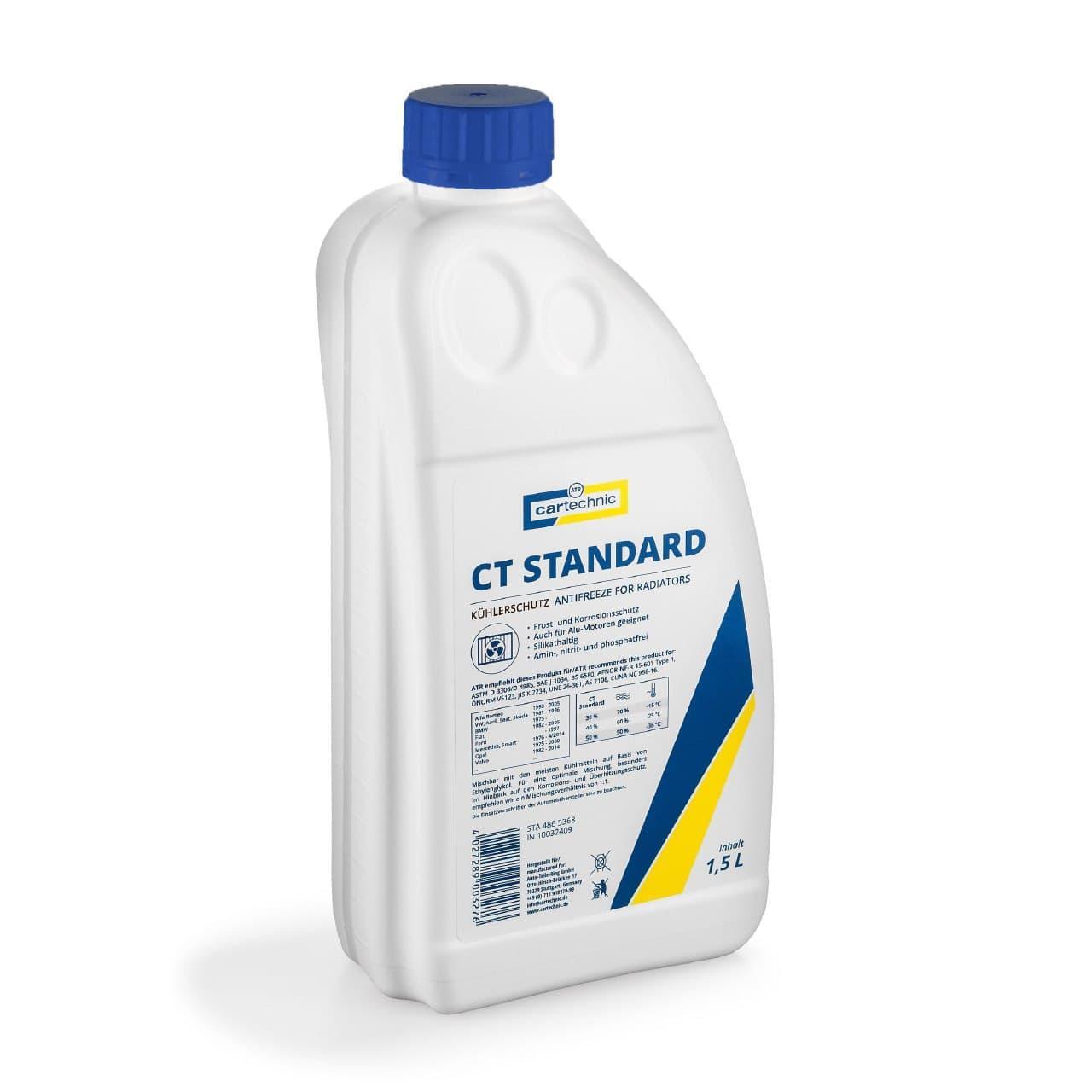 Антифриз Cartechnic G11 Standard концентрат 1.5 л Синий (CART999 1,5L)
