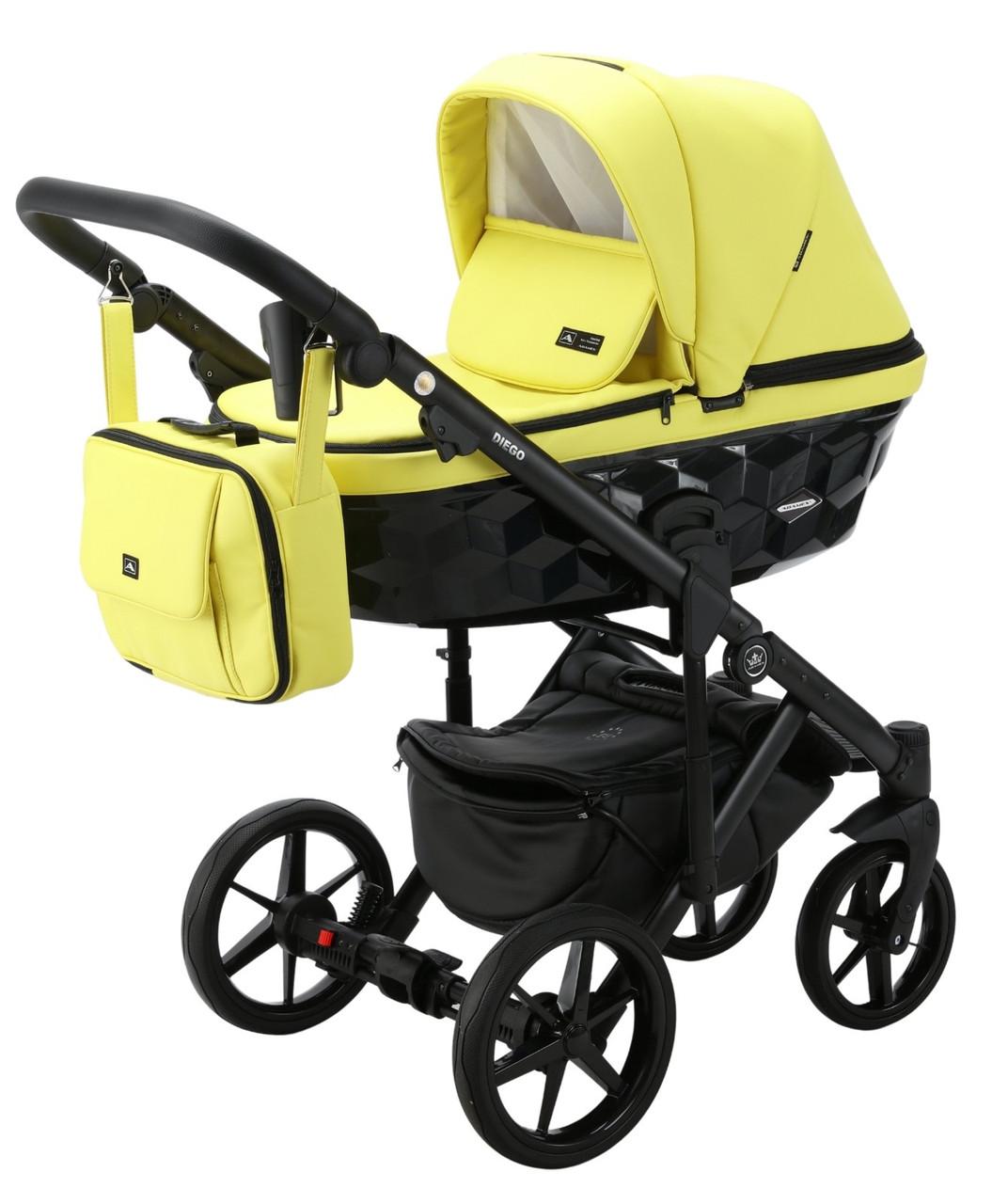 Детская универсальная коляска 2 в 1 Adamex Diego SA-22