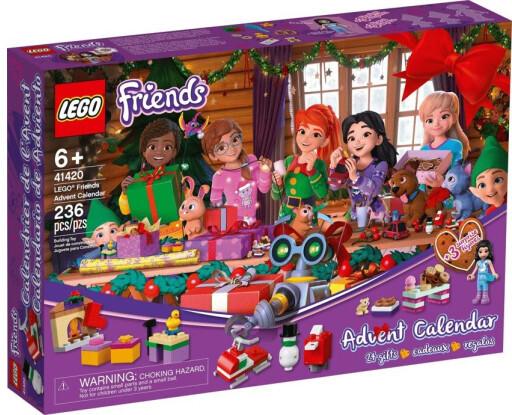 Новорічний календар LEGO Friends 41420 Лего Френдс Різдвяний календар