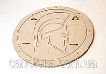 Деревянный щит римский 30 см