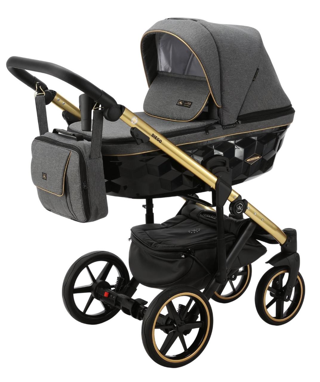 Детская универсальная коляска 2 в 1 Adamex Diego TK-572
