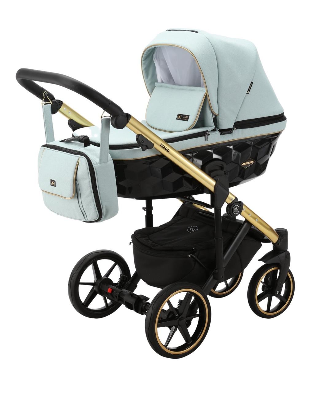 Детская универсальная коляска 2 в 1 Adamex Diego TK-600