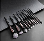 Набор кистей для макияжа 11 шт Rosella, фото 2