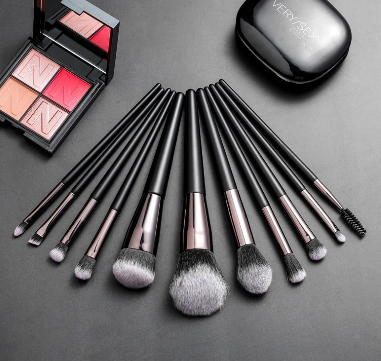 Набор кистей для макияжа 11 шт Rosella