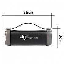 Портативная Bluetooth колонка  Cigii F52 Original, фото 3
