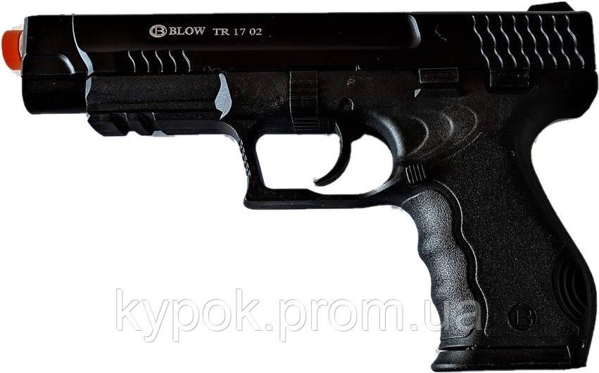 Стартовый пистолет BLOW TR 1702 + запасной магазин