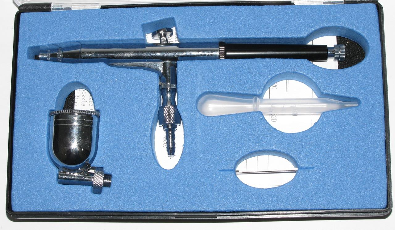 Аэрограф 0,3мм Auarita A-132 - Интернет-магазин AUTOSKLAD – краски, автоэмали, герметики, лаки, наборы инструментов, компрессоры в Днепре