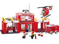 Конструктор PlayTive Fire Station Німеччина, фото 1