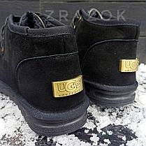 Угги UGG ботинки мужские мокасины зимние теплые на меху замша натуральная, фото 2