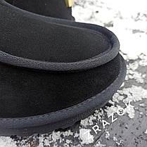 Уггі UGG черевики чоловічі мокасини зимові теплі на хутрі замша натуральна, фото 3