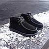 Уггі UGG черевики чоловічі мокасини зимові теплі на хутрі замша натуральна, фото 5