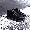 Уггі UGG черевики чоловічі мокасини зимові теплі на хутрі замша натуральна, фото 6