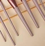 Набор кистей для макияжа 8 шт Lily, фото 4