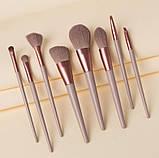 Набор кистей для макияжа 8 шт Lily, фото 6