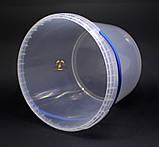 Ведро пластиковое прозрачное 5л, фото 5