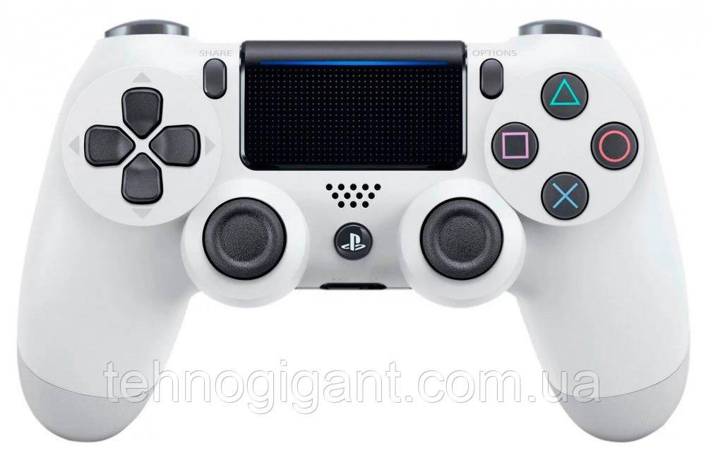 Джойстик, беспроводной геймпад Sony PS 4 DualShock 4 White, реплика ( белый )