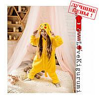Оригинальнае пижамы кигуруми Покемон Пикачу для мальчиков и девочек все размеры в наличии