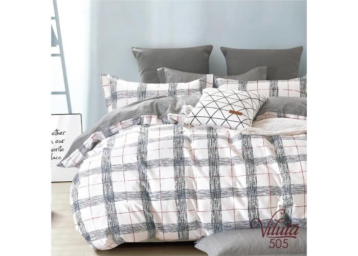 Комплект постельного белья полуторный Вилюта Сатин Twill 505