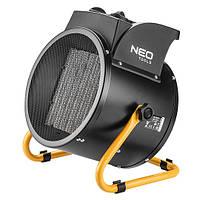 Тепловентилятор с керамическим нагревателем Neo Tools  5 кВт, 380В, PTC, 80м2, 588 м3/ч[90-064]