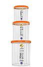 Набор Емкостей для сыпучих продуктов 0,65л+1л+1,5л+2л, фото 3
