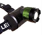Яркий налобный фонарик Bailong BL-6968-T6  светодиодный фонарь на голову, фото 4