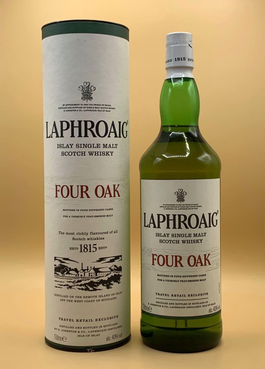 Виски Laphroaig Four Oak 1L Лафройг Фо Оак 1л