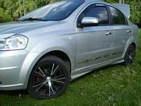 Пороги Chevrolet Aveo