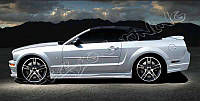 Пороги Ford Mustang