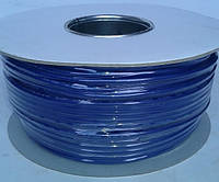 Кабель микрофонный 2жилы, Ø6мм, синий